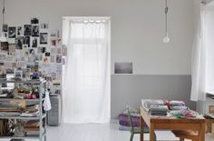Spicer + Bank: by Allison Egan: E-Decorating: A Two Tone Wall