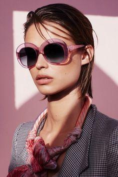Модные женские солнцезащитные очки 2018-2019 - фото тренды и новинки  моделей Джорджио Армани, 7b22c95ae3d
