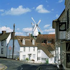 Cranbrook, Kent, UK, going here for lunch today lovely little town
