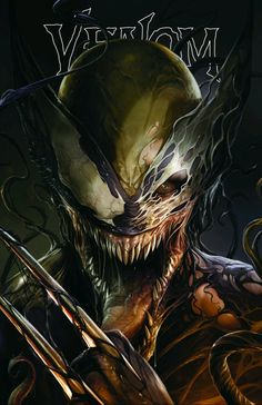 Venom ComicXposure Exclusive Variant Cover by Francesco Mattina_Wolverine Simbiote Venom Art, Marvel Venom, Marvel Vs, Marvel Dc Comics, Marvel Heroes, Captain Marvel, Carnage Symbiote, Superhero Villains, Avengers