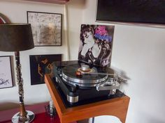 clarinetlamp Micro Seiki moerch diy turntable Shelf