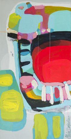 "Saatchi Online Artist: Claire Desjardins; Acrylic, 2013, Painting ""Missed Call"":"
