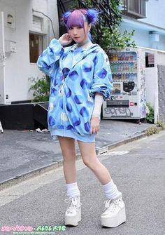 Harajuku Fashion, Japan Fashion, Kawaii Fashion, Cute Fashion, Soft Grunge, Ganguro Girl, Edgy Outfits, Cute Outfits, Tokyo Street Style