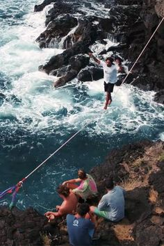 Slacklining can be an extremely freeing and inspiring pursuit. It's one of those things you can do just about anywhere, and it can give you a perspective that you can't get in any other way.