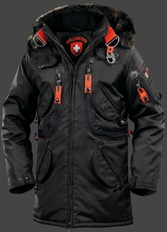 This is the latest style of Jackets:Wellensteyn:Wellensteyn Rescue Parka Men cotton dress Size ! You can choose what you like and tell me! Vetements T Shirt, Parka Coat, Parka Men, Golf Jackets, Tactical Clothing, Outdoor Outfit, Mantel, Blazers, Cool Outfits