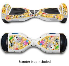 Electric Scooter Skin Sticker Case For Hover Board Protective Cover Emoji New #GameXcel