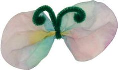 Coffee filter butterfly craft, as described or decorate your own way!