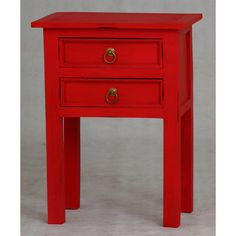 Clearance Budget 2 Drawer End Table La Verde (Australia) 01 Large