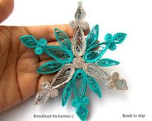quilled snowflakes flore - Google Search