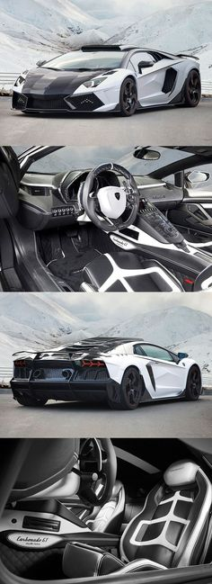 The #Lamborghini Aventador is truly an incredible #car. With a top speed of over 350kmh and its striking styling it is impossible not to be noticed when driving.