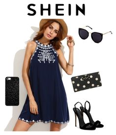"""Shein"" by djurik-lea on Polyvore featuring Giuseppe Zanotti and Kate Spade"