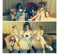 Lady Gaga ; with Gaga Dolls (Japan)
