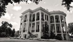 New Orleans Louisiana Black & White Photo Nottoway