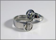 www.de, Ring der O Ring Der O, O Ring, Rabbits, Wedding Rings, Jewels, Engagement Rings, Engagement Ring, Stainless Steel, Ideas