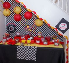 Candy table @ Cars Party