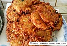 Medvehagymás-baconös tócsni Bacon, Chicken, Meat, Food, Eten, Meals, Cubs, Kai, Diet