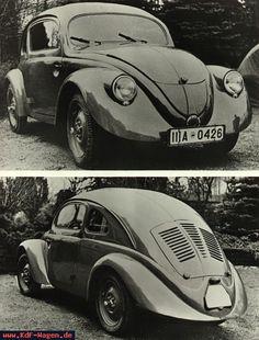 VW - 1938 - (vw_t1) - Doppelmotiv Typ 30 von schräg vorne und hinten - [5285]-1