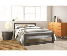 Perspective Bed in Natural Steel - Beds - Bedroom - Room & Board $799