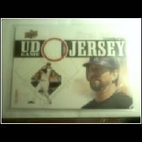 1-2010 UpperDeck Jersey Card #UDGJ-TO Todd Helton.