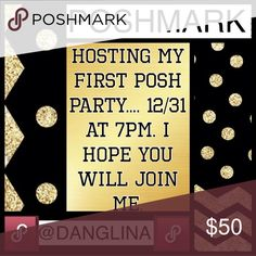 Hosting my first party on posh I am so honored and so excited to have the privilege and opportunity to host a party here on posh. I will be browsing for some awesome items to choose as my hosts picks♥️♥️♥️ @danglina Other