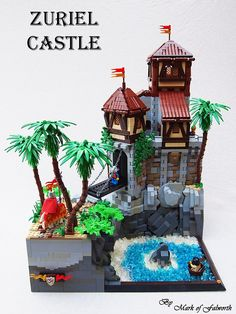 Zuriel Castle by Mark of Falworth on Flickr