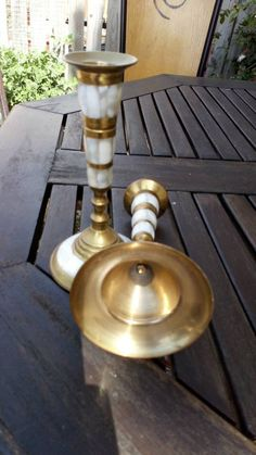 This item is unavailable Candlesticks, Happy Shopping, My Etsy Shop, Pairs, Boho, Check, Vintage, Home Decor, Candle Holders