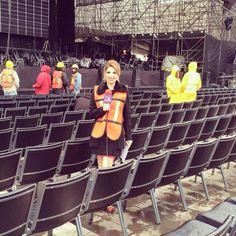 Todo listo para el concierto de Andrea #BocelliEnMonterrey #AztecaNoreste