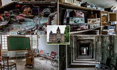 Chilling images show abandoned Tennessee asylum - article is not quite accurate. The hospital is still in operation on the same grounds. Only some of the buildings are abandoned.