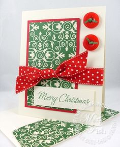 Stampin up for the holidays christmas card