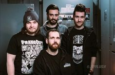 Bastille. love Dan's shirt. And Woody's hat XD