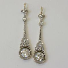 jewelry from 1920 Buy Art Deco diamond drop earrings, Sold Jewellery Sydney . 1920s Jewelry, Art Deco Jewelry, Antique Jewelry, Vintage Jewelry, Fine Jewelry, Jewelry Design, Handmade Jewelry, Vintage Art, Bridal Jewelry