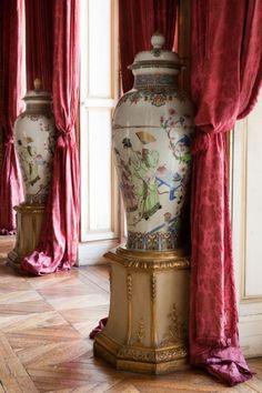 Musée Jacquemart-André. Salon des peintures vase