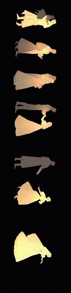 Detachment Cosette and Jean Valjean art by yu-iu Les Miserables, Hamilton, Manga Anime, Jean Valjean, Gellert Grindelwald, Fanart, Phantom Of The Opera, Illustrations, Musical Theatre