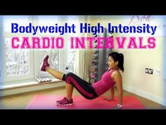 Bodyweight HIIT CARDIO Intervals (Fat Burning!)