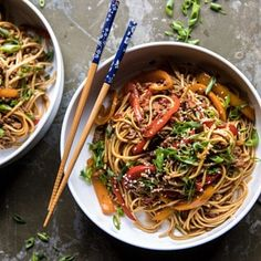 Weeknight 20 Minute Spicy Udon Noodles   halfbakedharvest.com #quick #easy #summerrecipe #healthy