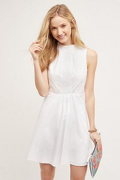 Josie Poplin Dress #anthropologie