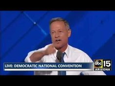 FULL: BULLY/RACIST! - Martin O'Malley on Trump - Democratic National Con...