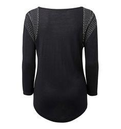 Lara embellished shoulder sweater - Forever New