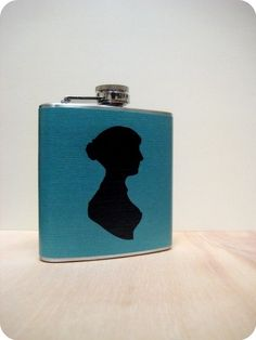 Jane Austen Flask | 37 Ways To Proudly Wear Your Love Of Books