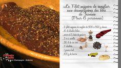 Filet mignon de sanglier aux champignons des bois de Janine - Recettes - Les Carnets de Julie - France 3