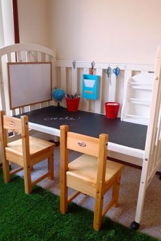 Don't toss your baby's crib when they outgrow it - here's how you can upcycle it at home!