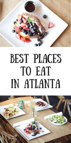 Spring Break İdeas Atlanta, Atlanta eats, restaurants in Atlanta, dining in Atlanta, best restauran. Atlanta Eats, Visit Atlanta, Atlanta Travel, Atlanta Food, Atlanta Georgia, Lunch Places, Dinner Places, Food Places, Best Places To Eat