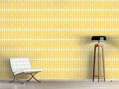 Design #Tapete Balkonia Gelb
