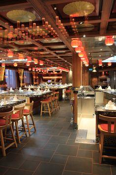 Restaurant sur le Costa Diadema  @marcpolyte