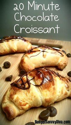 20 minute Chocolate Croissant