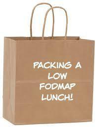 Low FODMAP brown bag lunch ideas!