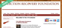 Featured Blog: Addiction Recovery Foundation - http://www.ukesad.org/