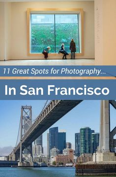 Get inspired and then go shooting with this guide to the best photography spots in San Francisco. Visit photo galleries & museums and get great photography ideas. The best part is that more are free things to do in SF. So get out and go shoot the Golden Gate, SF skyline or wherever your muse strikes.