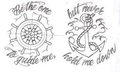 old school nautical. In love with this quote