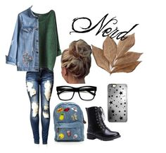 """Nerd"" by katelyn-sours-shrieve on Polyvore featuring beauty, Bliss Studio, ZeroUV and Rianna Phillips"
